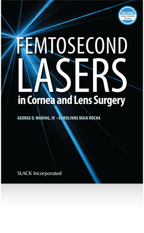 Fermtosecond Laser in cornea and lens surgery, Book Cover